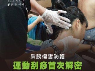肩膀傷害防護-運動刮痧首次解密 現在就來治你的肩關節 !