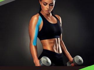 手臂痠痛必學  5步驟貼紮放鬆肱二頭肌