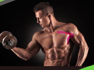 【健身貼紮】學會胸大肌貼紮 槓鈴臥推沒煩惱
