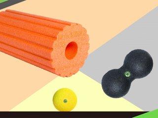 三種實用放鬆器材,一次解決你的肌肉痠痛