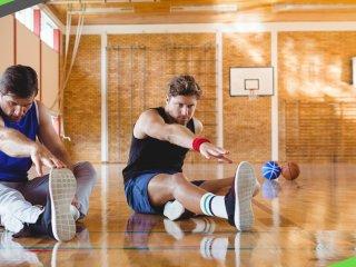 打完籃球 你必做的五套伸展