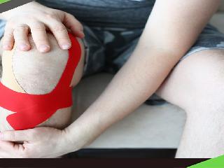 預防髕骨外翻 兩貼紮減少膝蓋負擔