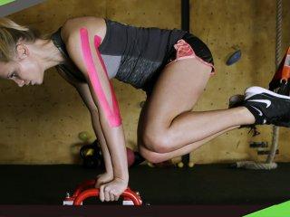 【健身貼紮】健身不慎導致三頭肌不適 1招貼紮馬上舒緩